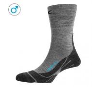 Шкарпетки чоловічі P.A.C. TR 3.1 Trekking Light Men сірий 40-43