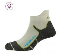 Шкарпетки жіночі P.A.C. TR 1.1 Trekking Superсвітлий білий/зелений 35-37