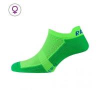 Шкарпетки жіночі P.A.C. BK 1.1 Bike Footie Zip Women зелений 35-37
