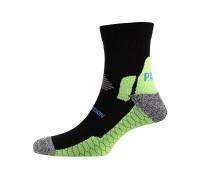 Шкарпетки чоловічі P.A.C. Running Pro Compress Men Black 40-43