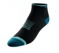 Шкарпетки жіночі Pearl Izumi Elite Low чорний/зелений S