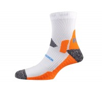 Шкарпетки чоловічі P.A.C. Running Pro Compress Men White 44-47