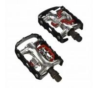 Педалі контактні XLC PD-S01, 465 гр, чорні, MTB