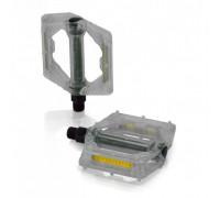 Педали XLC PD-M16, 326 гр, прозрачные