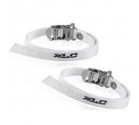 Ремни к педалям XLC PD-X01, 2шт, белые