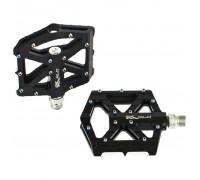 Педали XLC PM-M12, 350 гр, черно-серебристые