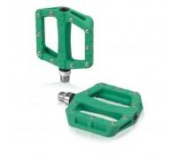 Педалі XLC PD-M19, 312 гр, зелені