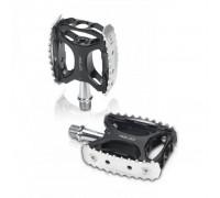Педалі XLC PD-M17, 330 гр, чорно-сріблясті
