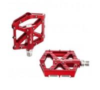 Педалі XLC PM-M12, 350 гр, червоні