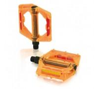 Педалі XLC PD-M16, 326 гр, помаранчеві