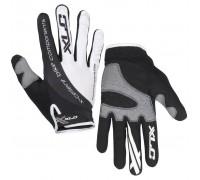 Перчатки XLC CG-L04 Mercury, черно-белые, XL