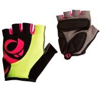 Рукавички жіночі Pearl Izumi W SELECT чорний/рожевий/жовтий L