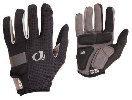 Рукавички тонкі Pearl Izumi Elite Gel довгі пальці чорний M | Veloparts