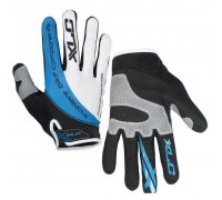 Перчатки XLC CG-L04 Mercury, черно-серо-синие, S