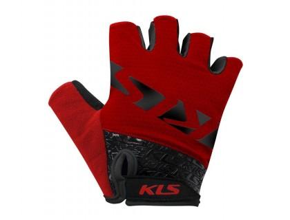 Рукавички короткий палець KLS Lash червоний XXL | Veloparts