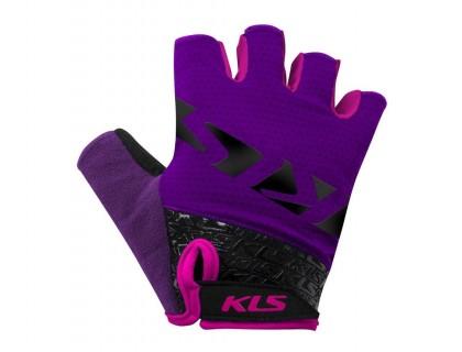 Рукавички короткий палець KLS Lash пурпур S   Veloparts