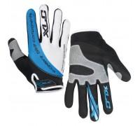 Перчатки XLC CG-L04 Mercury, черно-серо-синие, M