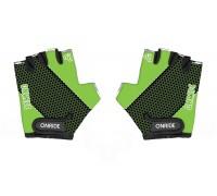 Рукавички дитячі Onride Gem зелений/чорний вік 7-8 років