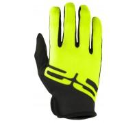 Рукавички R2 HANG з повними пальцями неоновий жовтий/чорний XL