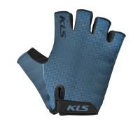 Рукавички короткий палець KLS Factor синій S