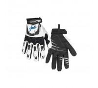 Перчатки XLC CG-L06 LongFinger, черно-белые, ХХL
