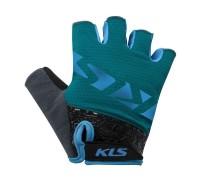 Рукавички короткий палець KLS Lash синій XXL