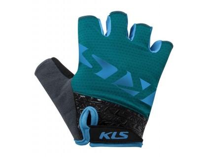 Рукавички короткий палець KLS Lash синій XXL | Veloparts