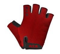 Рукавички короткий палець KLS Factor червоний S
