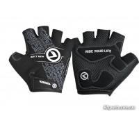 Рукавички KLS Comfort New чорний/білий S