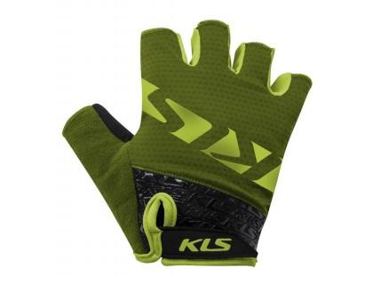 Рукавички короткий палець KLS Lash форест XS | Veloparts