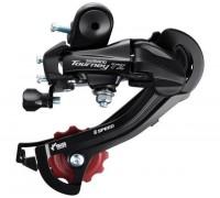 Перемикач задній Shimano Tourney TZ RD-TZ500-D болт 6 швидкости