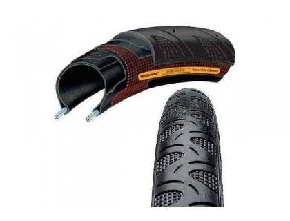 Покрышка Continental Grand Prix 4-Season Double Vectran Breaker 622x25 Foldable 330TPI | Veloparts