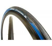 Покрышка Michelin LITHION2 700x23C Folding чорний/синій