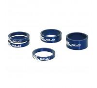 """Проставочні кільця, XLC AS-A02, 1 1/8 """", сині"""