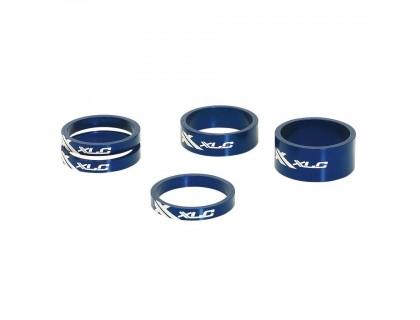 """Проставочные кольца, XLC AS-A02, 1 1/8"""", синие   Veloparts"""