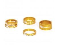 """Проставочні кільця, XLC AS-A02, 1 1/8 """", золоті"""