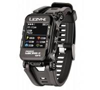 Часы фитнес-трекер для бега и велоспорта LEZYNE MICRO C GPS WATCH COLOR HR 2018 + Пульсометр Black