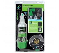 Ремкомплект для безкамерних покришок (Герметик, ущільнювальна стрічка, балон СО2 (2шт), клапан для СО2), Slime