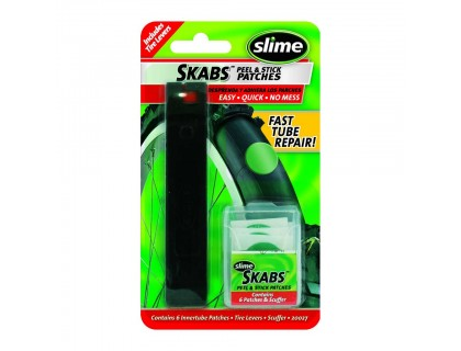 Ремкомплект для камеры (6 шт) с бортировками, Slime | Veloparts