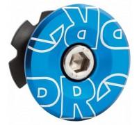 Якір рульової PRO 28.6мм з кришкою анодована синій