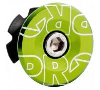 Якір рульової PRO 28.6мм з кришкою анодована зелений
