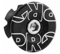 Якір рульової PRO 28.6мм з кришкою анодована чорний