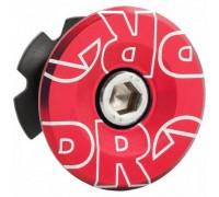 Якір рульової PRO 28.6мм з кришкою анодована червоний