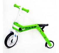 Біговел-самокат Real Baby, зелений