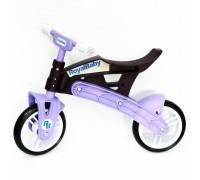 Біговел Royal Baby, коричнево-фіолетовий