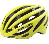 Шолом KLS Sprut неоновий жовтий M/L (58-62 см)