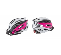 Шолом R2 Wind колір Чорний/Білий/Рожевий (матовий) M