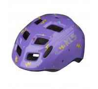 Шолом дитячий KLS ZIGZAG фіолетовий S (50-55 см)