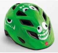 Шолом дитячий MET Elfo Genio зелений Monsters Glossy