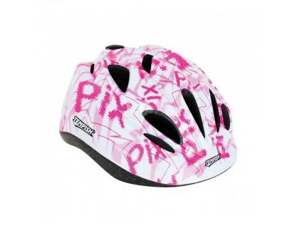 Шлем детский Tempish Pix, розовый, S(49-53) | Veloparts